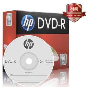 HP DVD-R 4.7GB 16x 슬림 1장